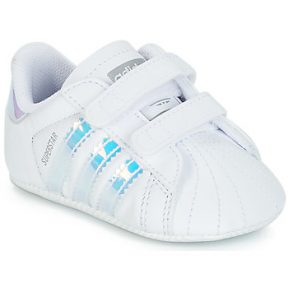 Xαμηλά Sneakers adidas SUPERSTAR CRIB ΣΤΕΛΕΧΟΣ: Δέρμα και συνθετικό & ΕΠΕΝΔΥΣΗ: Ύφασμα & ΕΣ. ΣΟΛΑ: Ύφασμα & ΕΞ. ΣΟΛΑ: Καουτσούκ
