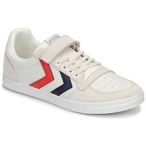 Xαμηλά Sneakers Hummel SLIMMER STADIL LEATHER LOW JR ΣΤΕΛΕΧΟΣ: Δέρμα / ύφασμα & ΕΠΕΝΔΥΣΗ: Ύφασμα & ΕΣ. ΣΟΛΑ: Ύφασμα & ΕΞ. ΣΟΛΑ: Καουτσούκ