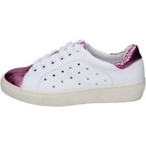 Xαμηλά Sneakers Francescomilano sneakers bianco rosa pelle sintetica BS78