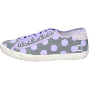 Xαμηλά Sneakers Date sneakers grigio tessuto viola ap561