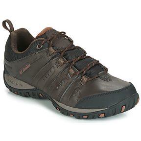 Παπούτσια Sport Columbia WOODBURN II WATERPROOF ΣΤΕΛΕΧΟΣ: Δέρμα / ύφασμα & ΕΠΕΝΔΥΣΗ: Ύφασμα & ΕΣ. ΣΟΛΑ: Συνθετικό & ΕΞ. ΣΟΛΑ: Καουτσούκ