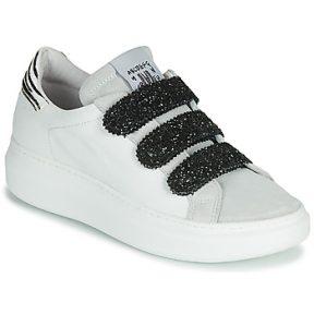 Xαμηλά Sneakers Meline SCRATCHO ΣΤΕΛΕΧΟΣ: Δέρμα / ύφασμα & ΕΠΕΝΔΥΣΗ: Δέρμα / ύφασμα & ΕΣ. ΣΟΛΑ: Δέρμα & ΕΞ. ΣΟΛΑ: Καουτσούκ
