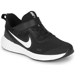Xαμηλά Sneakers Nike REVOLUTION 5 PS ΣΤΕΛΕΧΟΣ: Δέρμα / ύφασμα & ΕΠΕΝΔΥΣΗ: Ύφασμα & ΕΣ. ΣΟΛΑ: Ύφασμα & ΕΞ. ΣΟΛΑ: Καουτσούκ