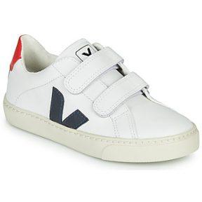 Xαμηλά Sneakers Veja SMALL-ESPLAR-VELCRO ΣΤΕΛΕΧΟΣ: Δέρμα & ΕΠΕΝΔΥΣΗ: Ύφασμα & ΕΣ. ΣΟΛΑ: Συνθετικό & ΕΞ. ΣΟΛΑ: Καουτσούκ