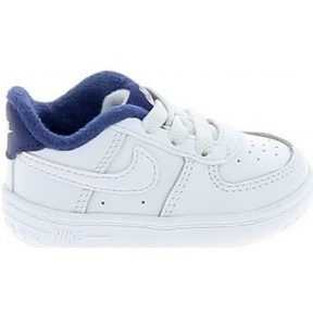 Xαμηλά Sneakers Nike force 1 Crib BB Blanc Bleu 1009162030015 [COMPOSITION_COMPLETE]