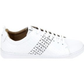 Xαμηλά Sneakers Lacoste Carnaby Evo Blanc Noir [COMPOSITION_COMPLETE]
