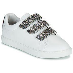Xαμηλά Sneakers Bons baisers de Paname EDITH GLITTER TONGUE ΣΤΕΛΕΧΟΣ: Δέρμα & ΕΠΕΝΔΥΣΗ: Δέρμα & ΕΣ. ΣΟΛΑ: Δέρμα & ΕΞ. ΣΟΛΑ: Συνθετικό