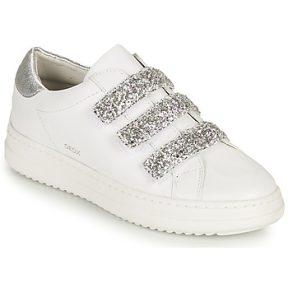 Xαμηλά Sneakers Geox D PONTOISE C ΣΤΕΛΕΧΟΣ: Δέρμα και συνθετικό & ΕΠΕΝΔΥΣΗ: Δέρμα & ΕΣ. ΣΟΛΑ: Δέρμα & ΕΞ. ΣΟΛΑ: Συνθετικό