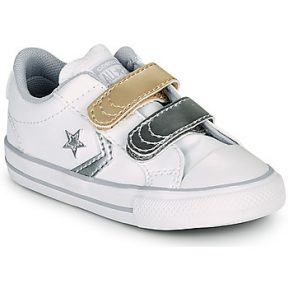 Xαμηλά Sneakers Converse STAR PLAYER 2V METALLIC LEATHER OX ΣΤΕΛΕΧΟΣ: Δέρμα & ΕΠΕΝΔΥΣΗ: Ύφασμα & ΕΣ. ΣΟΛΑ: Ύφασμα & ΕΞ. ΣΟΛΑ: Καουτσούκ