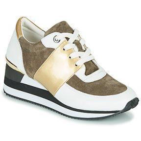 Xαμηλά Sneakers Karston SILMON ΣΤΕΛΕΧΟΣ: Δέρμα και συνθετικό & ΕΠΕΝΔΥΣΗ: Ύφασμα & ΕΣ. ΣΟΛΑ: Δέρμα & ΕΞ. ΣΟΛΑ: Καουτσούκ
