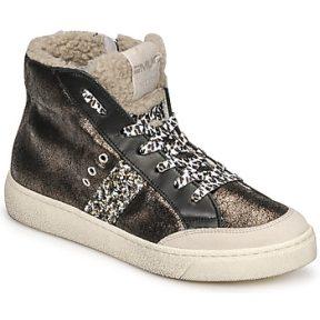 Ψηλά Sneakers Meline CAR1425 ΣΤΕΛΕΧΟΣ: Δέρμα / ύφασμα & ΕΠΕΝΔΥΣΗ: Ύφασμα & ΕΣ. ΣΟΛΑ: Δέρμα & ΕΞ. ΣΟΛΑ: Καουτσούκ