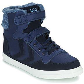 Ψηλά Sneakers Hummel STADIL WINTER HIGH JR ΣΤΕΛΕΧΟΣ: Δέρμα & ΕΠΕΝΔΥΣΗ: Ύφασμα & ΕΣ. ΣΟΛΑ: Ύφασμα & ΕΞ. ΣΟΛΑ: Καουτσούκ