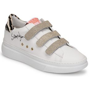 Xαμηλά Sneakers Semerdjian BARRY ΣΤΕΛΕΧΟΣ: Δέρμα / ύφασμα & ΕΠΕΝΔΥΣΗ: Δέρμα χοίρου & ΕΣ. ΣΟΛΑ: Δέρμα χοίρου & ΕΞ. ΣΟΛΑ: Καουτσούκ