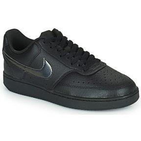 Xαμηλά Sneakers Nike WMNS NIKE COURT VISION LOW ΣΤΕΛΕΧΟΣ: Δέρμα και συνθετικό & ΕΠΕΝΔΥΣΗ: Ύφασμα & ΕΣ. ΣΟΛΑ: Ύφασμα & ΕΞ. ΣΟΛΑ: Καουτσούκ