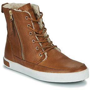 Ψηλά Sneakers Blackstone CW96 ΣΤΕΛΕΧΟΣ: Δέρμα & ΕΠΕΝΔΥΣΗ: Μάλλινα & ΕΣ. ΣΟΛΑ: Μάλλινα & ΕΞ. ΣΟΛΑ: Καουτσούκ